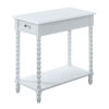 This item: Michelle White Chairside Table