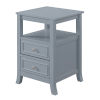 This item: Melbourne Gray MDF End Table