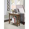 This item: American Heritage Brown Wedge End Table