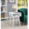 This item: Napa White End Table