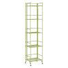 This item: Xtra Storage Lime 11-Inch Five-Tier Folding Metal Shelf