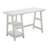 This item: Designs2Go White Trestle Desk