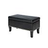 This item: Winslow Storage Ottoman, Black