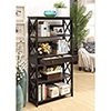 This item: Oxford 5-Tier Bookcase with Drawer, Espresso