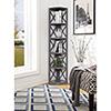 This item: Oxford 5-Tier Corner Bookcase, Gray