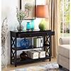 This item: Oxford 1 Drawer Console Table, Black