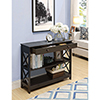 This item: Oxford 1-Drawer Console Table, Espresso