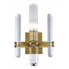 This item: Lincoln Burnished Brass 10-Inch One-Light Wall Sconce