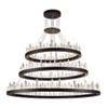 This item: Malta Satin Dark Grey 128-Light LED Chandelier
