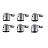 This item: Housing Silver Eight-Inch Non-Insulated Contact Housing, Pack of Six