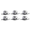 This item: Housing Silver 10-Inch Non-Insulated Contact Housing, Pack of Six