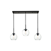This item: Baxter Black Seven-Inch Three-Light Mini Pendant