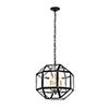 This item: Caro Black Three-Light Pendant