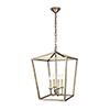 This item: Maddox Vintage Sliver Four-Light Pendant