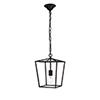 This item: Maddox Black One-Light Mini Pendant