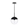 This item: Eclipse Black 10-Inch One-Light Pendant