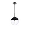 This item: Eclipse Black 12-Inch One-Light Pendant