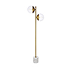 This item: Eclipse Brass Two-Light Floor Lamp