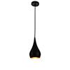 This item: Nora Black Six-Inch One-Light Mini Pendant