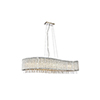 This item: Influx Chrome 14-Inch Eight-Light Pendant