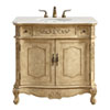 This item: Danville Antique Beige 36-Inch Vanity Sink Set