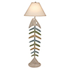 This item: Coastal Living Cottage and Summer One-Light Bone Fish Floor lamp