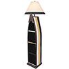 This item: Coastal Living Weathered Walnut One-Light Sail Boat Floor Lamp