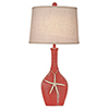 This item: Coastal Living Weathered Coral One-Light Ovale Genie Table Lamp