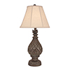 This item: Casual Living Tarnished Pale Gray One-Light 33-Inch Table lamp