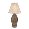 This item: Casual Living Cottage Glaze One-Light Band of Leaves Table Lamp