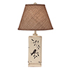 This item: Casual Living Distressed Nude One-Light Table Lamp