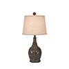 This item: Casual Living Atlantic Gray One-Light 24-Inch Table Lamp