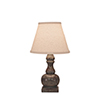 This item: Casual Living Tarnished Pale Gray One-Light Table Lamp