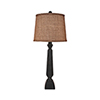 This item: Casual Living Distressed Black One-Light Candlestick Table Lamp