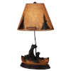 This item: Rustic Living Kodiak with Honey Accent One-Light Table Lamp