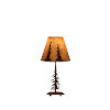 This item: Charred Pounced One-Light 10-Inch Table Lamp