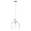 This item: Brushed Nickel One-Light Pendant