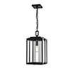 This item: Powder Coat Black 11-Inch One-Light Outdoor Pendant