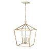 This item: Modern Gold 16-Inch Four-Light Pendant