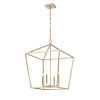 This item: Modern Gold 20-Inch Four-Light Pendant