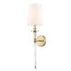 This item: Modern Gold 20-Inch One-Light Wall Sconce