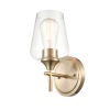 This item: Ashford Modern Gold One-Light Wall Sconce