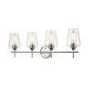 This item: Ashford Chrome Four-Light Bath Vanity