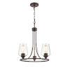This item: Ashford Rubbed Bronze Three-Light Chandelier