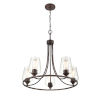 This item: Ashford Rubbed Bronze Five-Light Chandelier