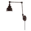 This item: Soho M2 Oil Rubbed Bronze One-Light Triple Swivel Swing Arm Wall Sconce