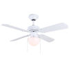 This item: Galaxy White 36-Inch One-Light Ceiling Fan