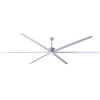 This item: Fanbos Aluminum 120-Inch Ceiling Fan