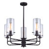 This item: Albany Oil Rubbed Bronze Five-Light Chandelier