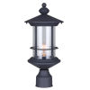 This item: Treehouse Black 8 One-Light Outdoor Wall Mount